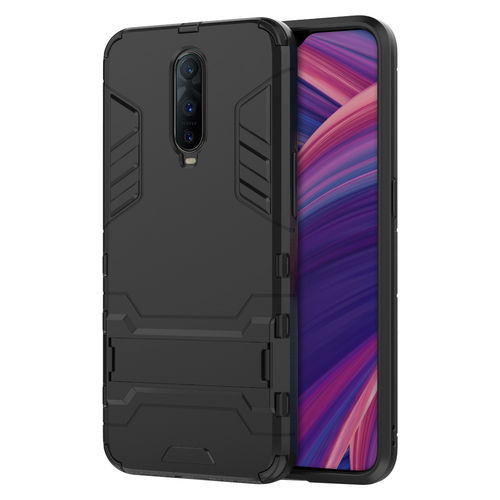 Slim Armour Tough Shockproof Case for Oppo R17 Pro - Black